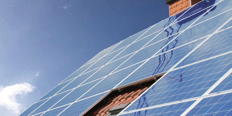 schaduw op zonnepanelen